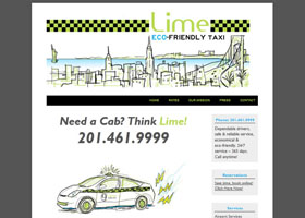 Lime Taxi